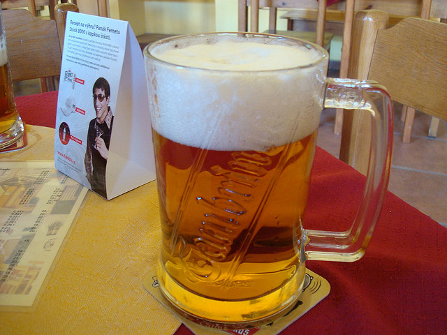 Things to do in Prague: drink Czech beer!