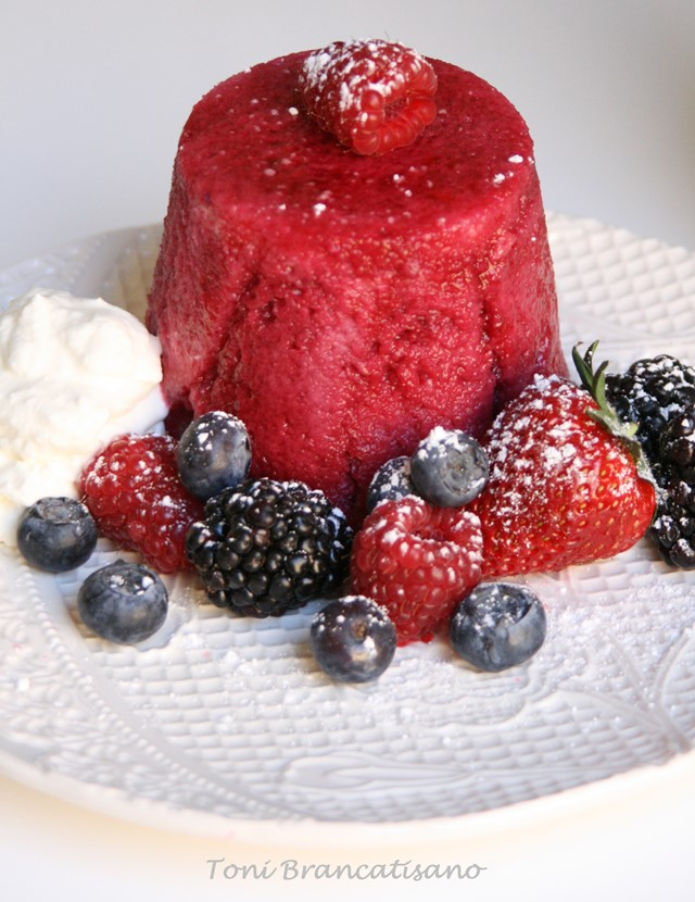 Summer Pudding British recipe
