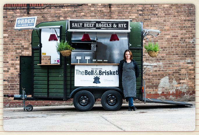 food truck london brisket