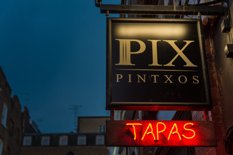 Pix Pintxos – Basque Pintxos Bar in London